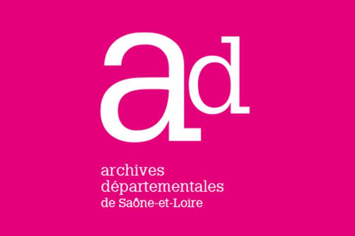 Archives départementales 71 logo