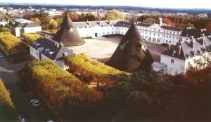 Vue du Château de la Verrerie Le Creusot